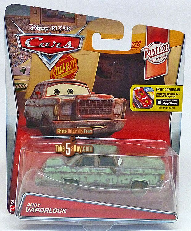 Combined Postage New 2016 Release Japeth DISNEY CARS DIECAST