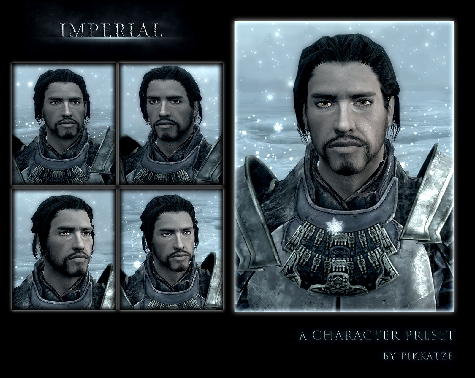 Eye Candy - Male Character Presets at Skyrim Nexus - mods