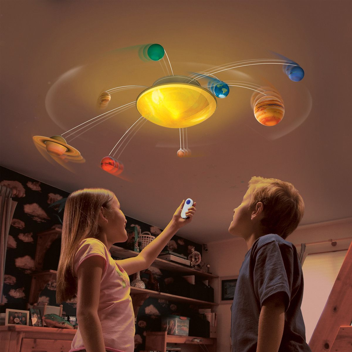 Solar system in my room auto shut off after 20 minutes of uncle milton solar system in my room toys games barizo aloadofball Images