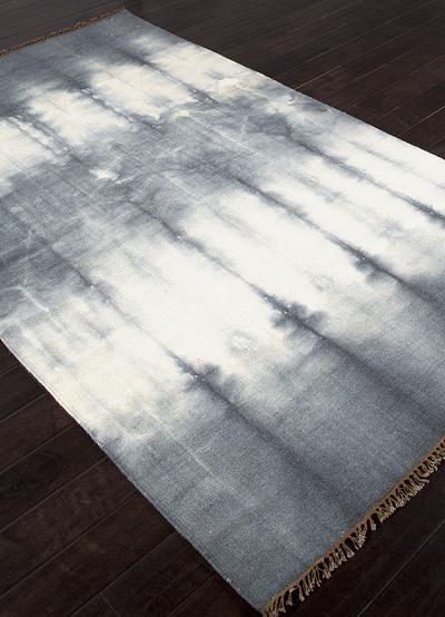 Flat Weave Tie Dye Gray Ivory Wool Area Rug Stone Streak Wool Area Rugs Rugs Layered Rugs