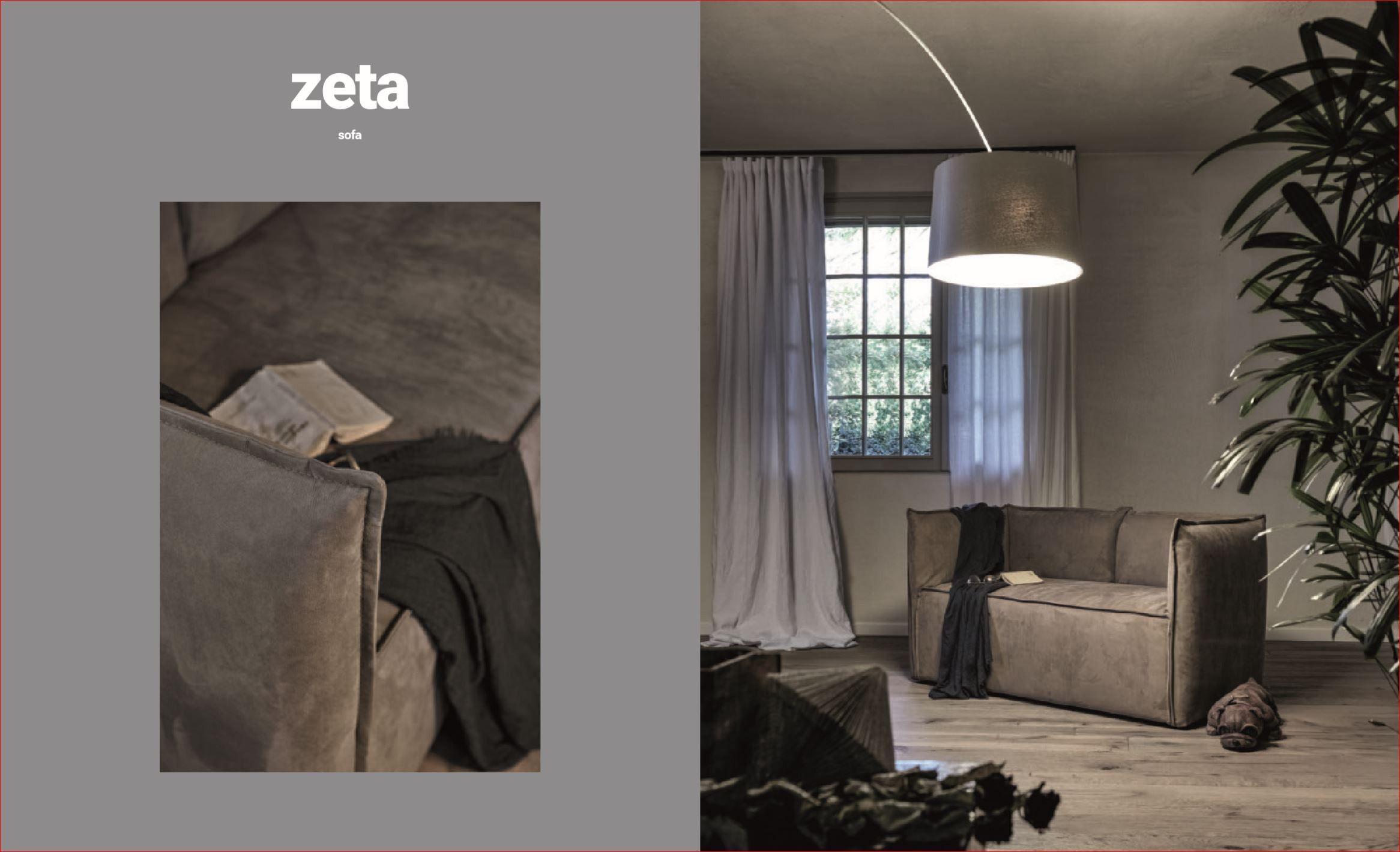 ZETA sofà collezione poltrone e poltroncine di Exco