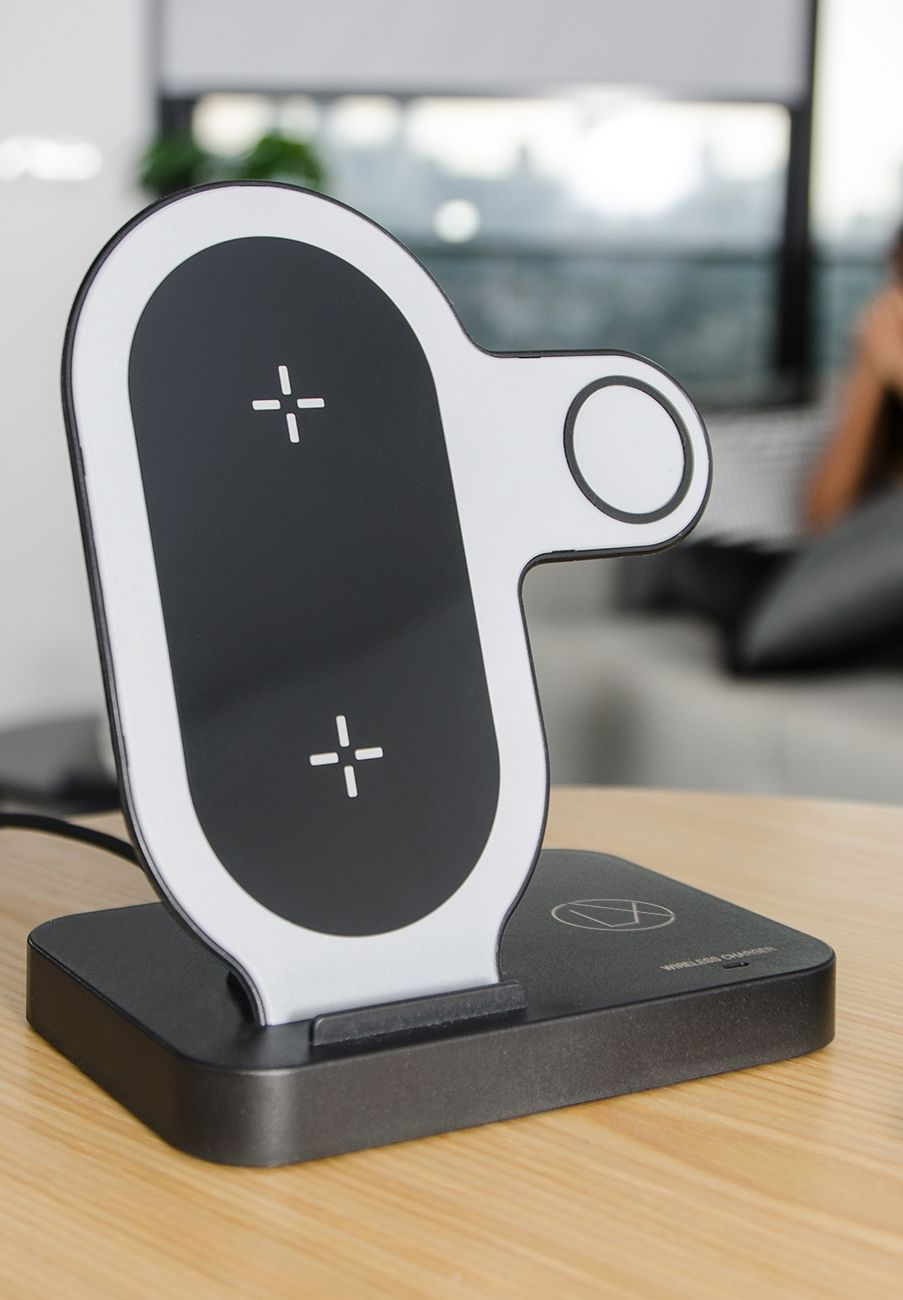 Lxory xs4 wireless charging stand compatible with all