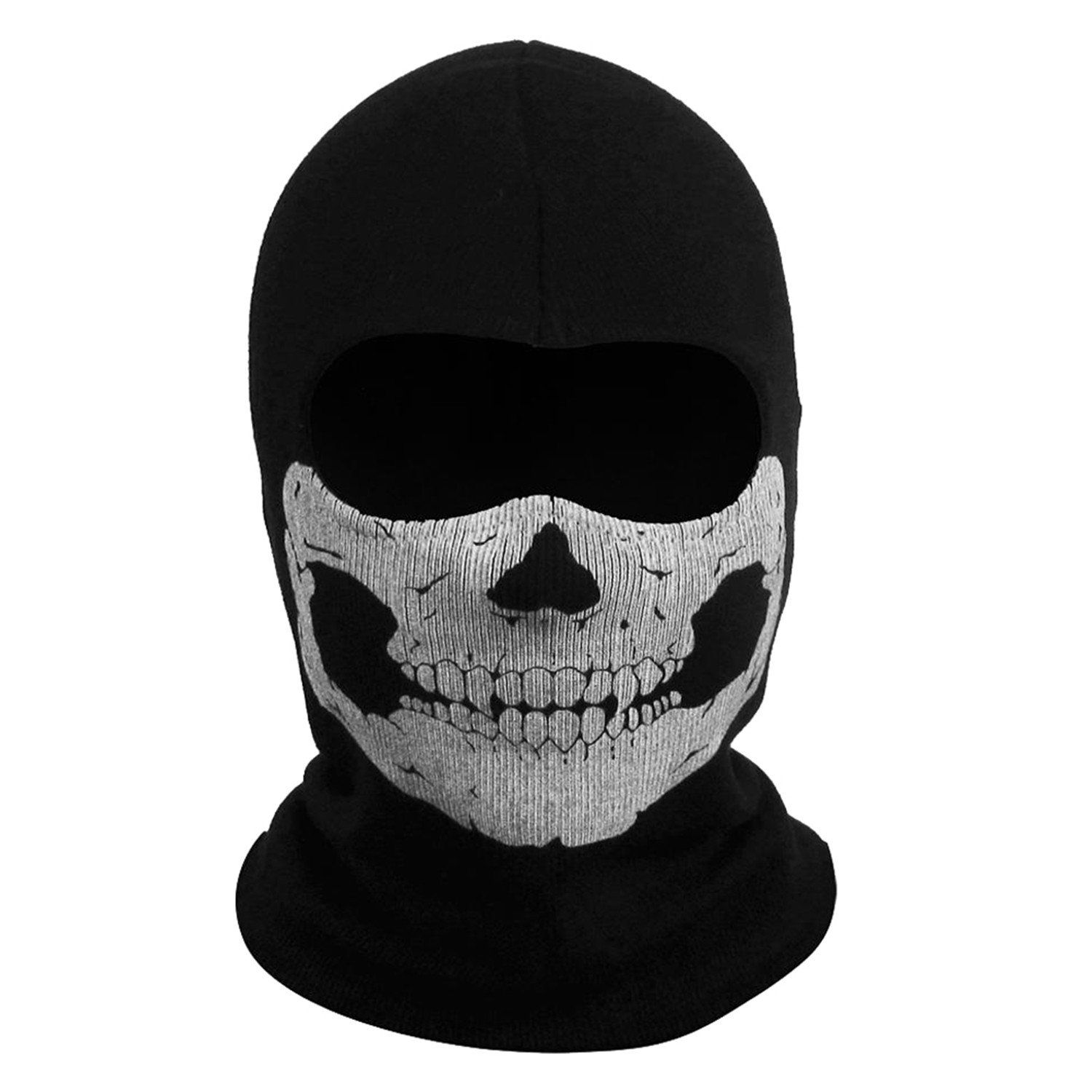 Call Of Duty 10 Cod Ghost Balaclava Logan Skull Face Mask Hood
