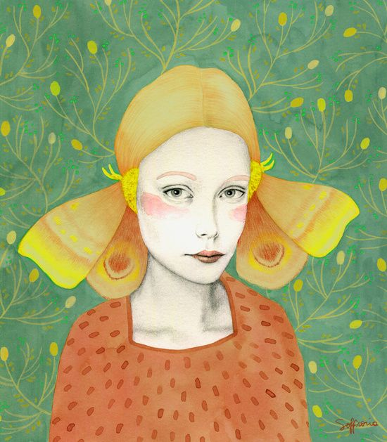 Dana 2 Art Print