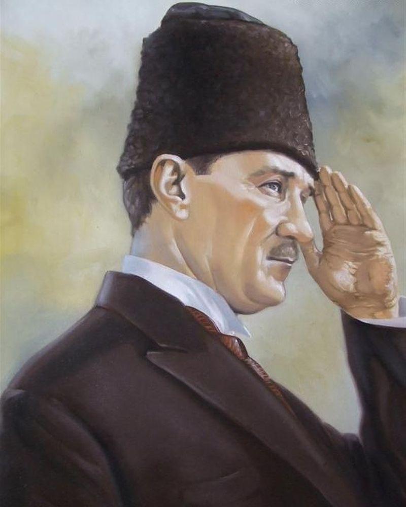 Ataturk Un Yagli Boya Resimleri Resim Tablolar Yagli Boya Resimler