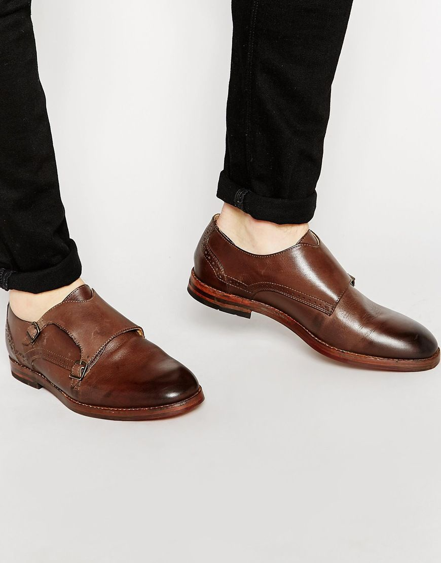 H By Hudson Denby Monk Shoes