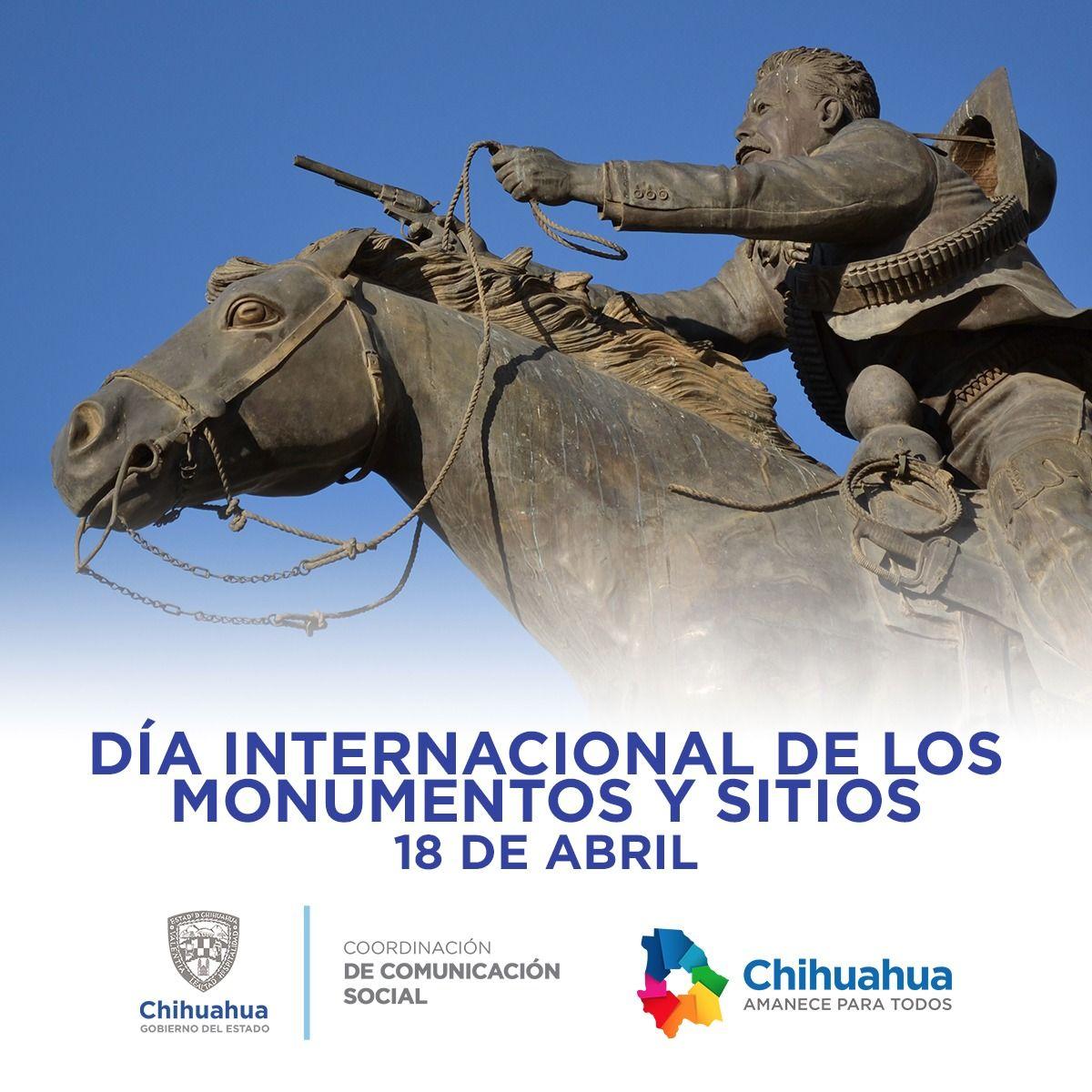 Hoy,18 de abril, es el Día Internacional de los Monumentos y Sitios. #ComSocChih #GobiernodeChihuahua