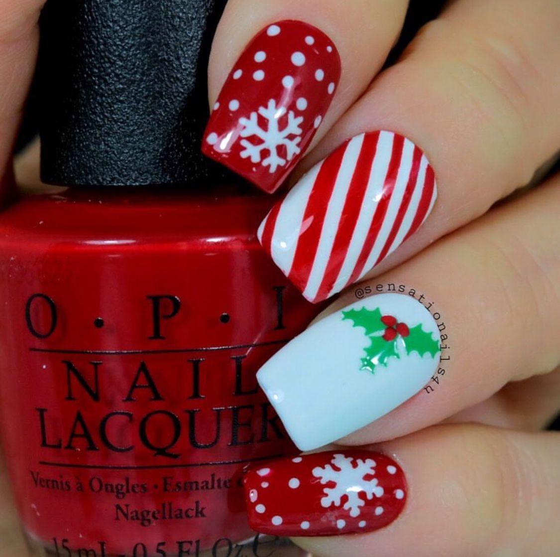Snowflake Nail Decal Nail Stencil Nail Stencils Christmas