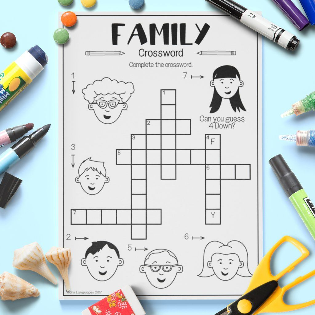 Family Crossword