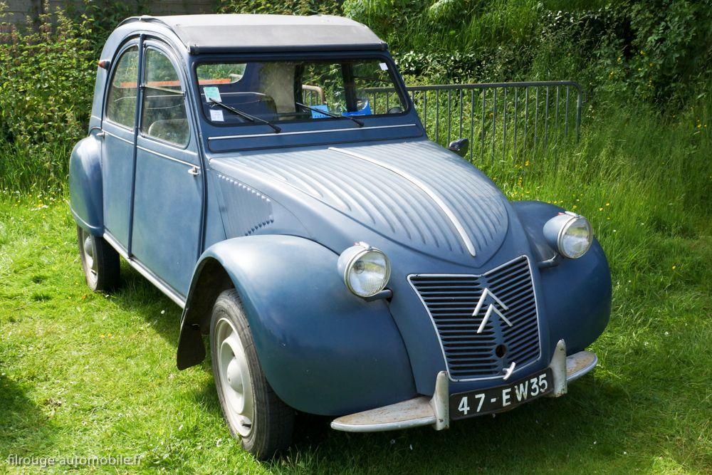 4 2 Cv Citroen Capot Ondule D Occasion Tbe Automobile Antique Cars Citroen