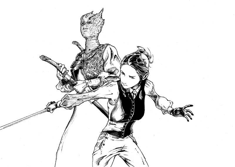 Abc142, le blog de Stéphane De Caneva » Blog Archive » Doctor Who : Vastra & Jenny