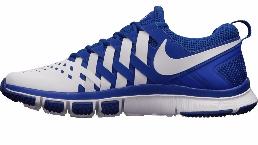 c67eb3418012c Nike Men s Free Trainer 5.0 TB 579811 402 Game Royal White  Nike   RunningCrossTraining