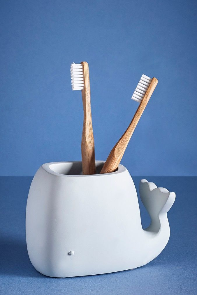 Next Whale Toothbrush Holder Blue