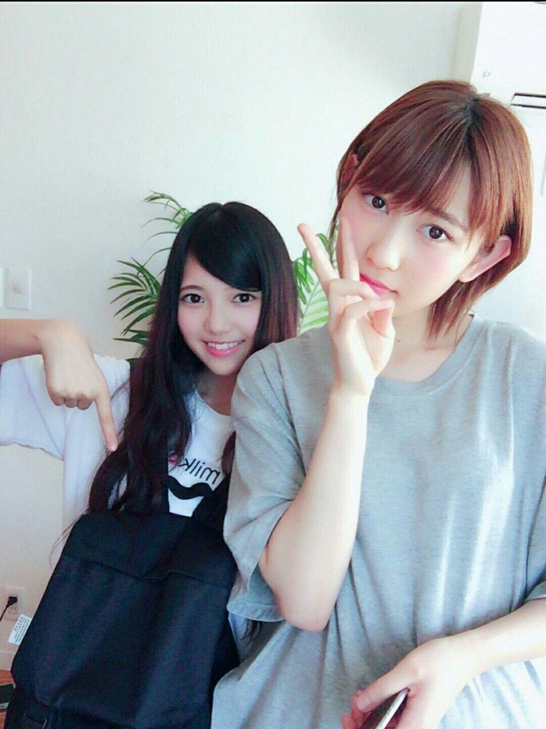 欅坂46 上村莉菜 志田愛佳 Keyakizaka46 Uemura Rina Shida Manaka