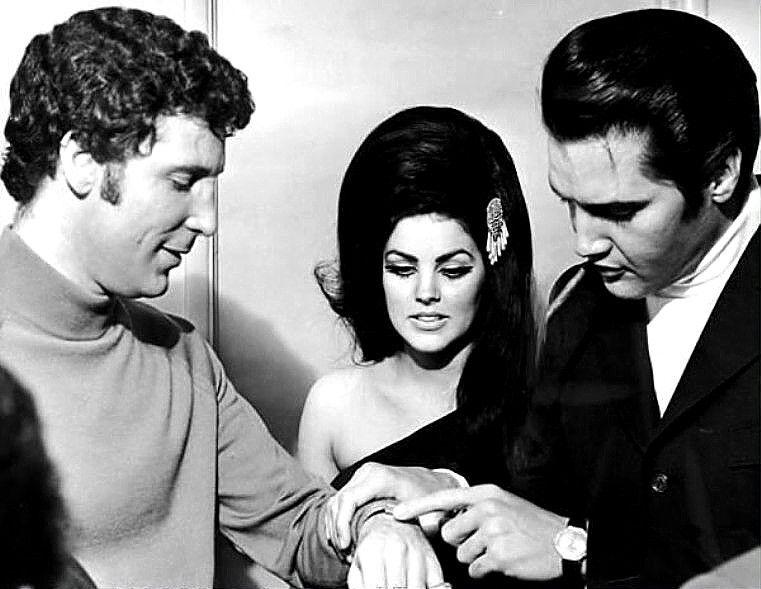 La Panceta De Hojita Elvis Presley Tom Jones Elvis Y Priscilla Elvis Presley Priscilla Presley