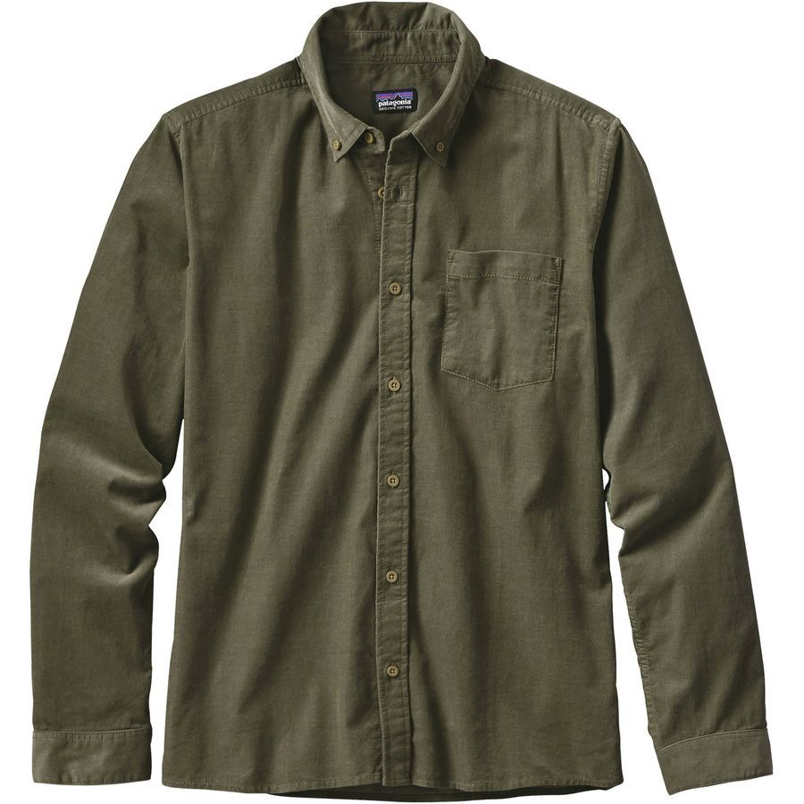 26ac1e4666d3 ... Long-Sleeve Shirts. Patagonia - Bluffside Cord Shirt - Men's -  Industrial Green