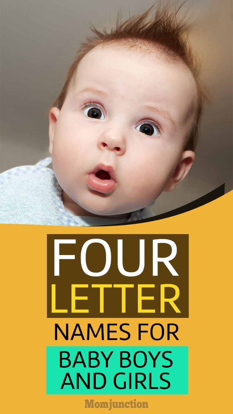 Most Beautiful 4Letter Baby Names For Boys And Girls