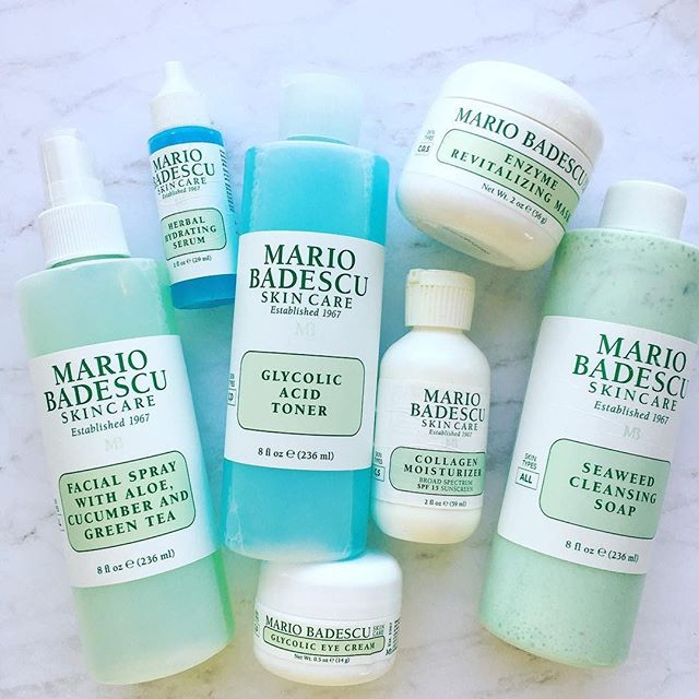 Mario Badescu Skin Care Mariobadescu Instagram Photos And Videos Skincaretipsforblackheads In 2021 Mario Badescu Skin Care Skin Care Kit Skin Care Toner Products