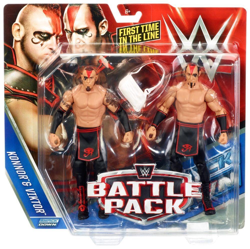 WWF HASBRO CUSTOM ACCESSORIES PACK 3 WRESTLING FIGURES WWE