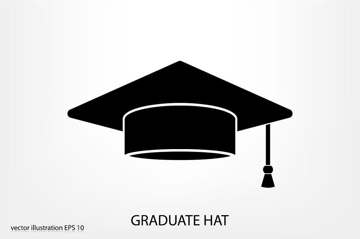 Graduate Hat Graduation Creative Market Graduation Cap