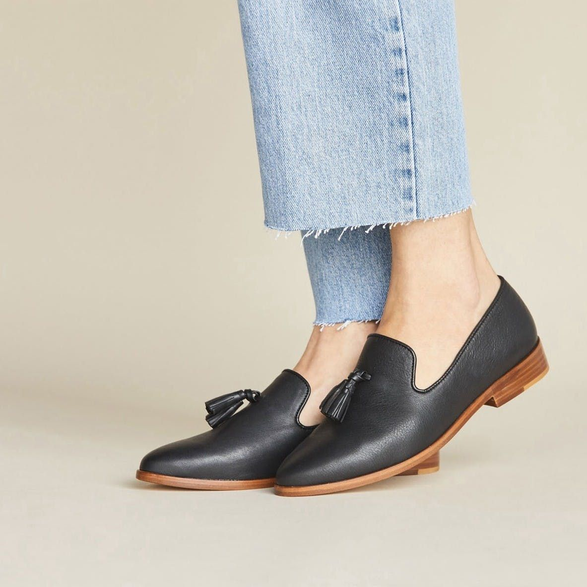 Frida Loafer Black By Nisolo Loafers Black Loafers Shoes