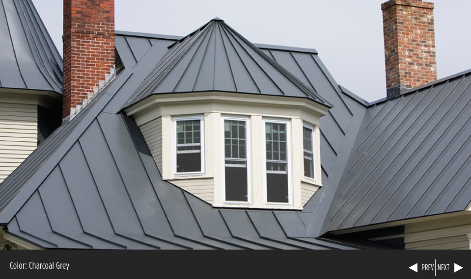Best Englert Charcoal Gray Metal Roof Construction Metal 400 x 300