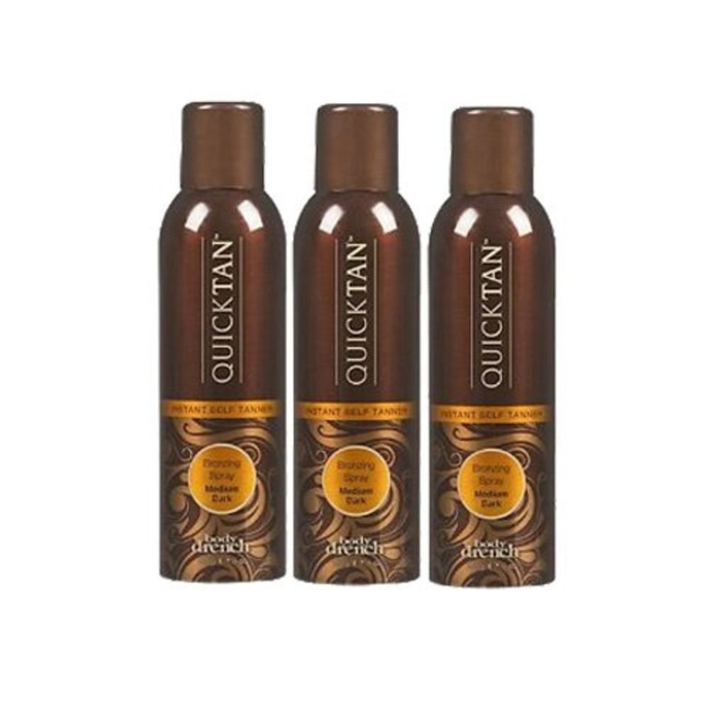 Body drench quick tan 3 pack instant selftanning