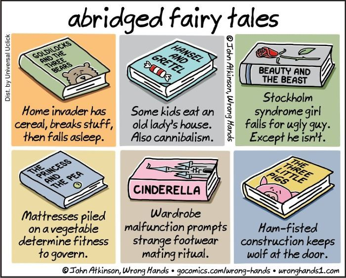 53 Witty Cartoons About Books And Book Spoilers By John Atkinson | Bored Panda