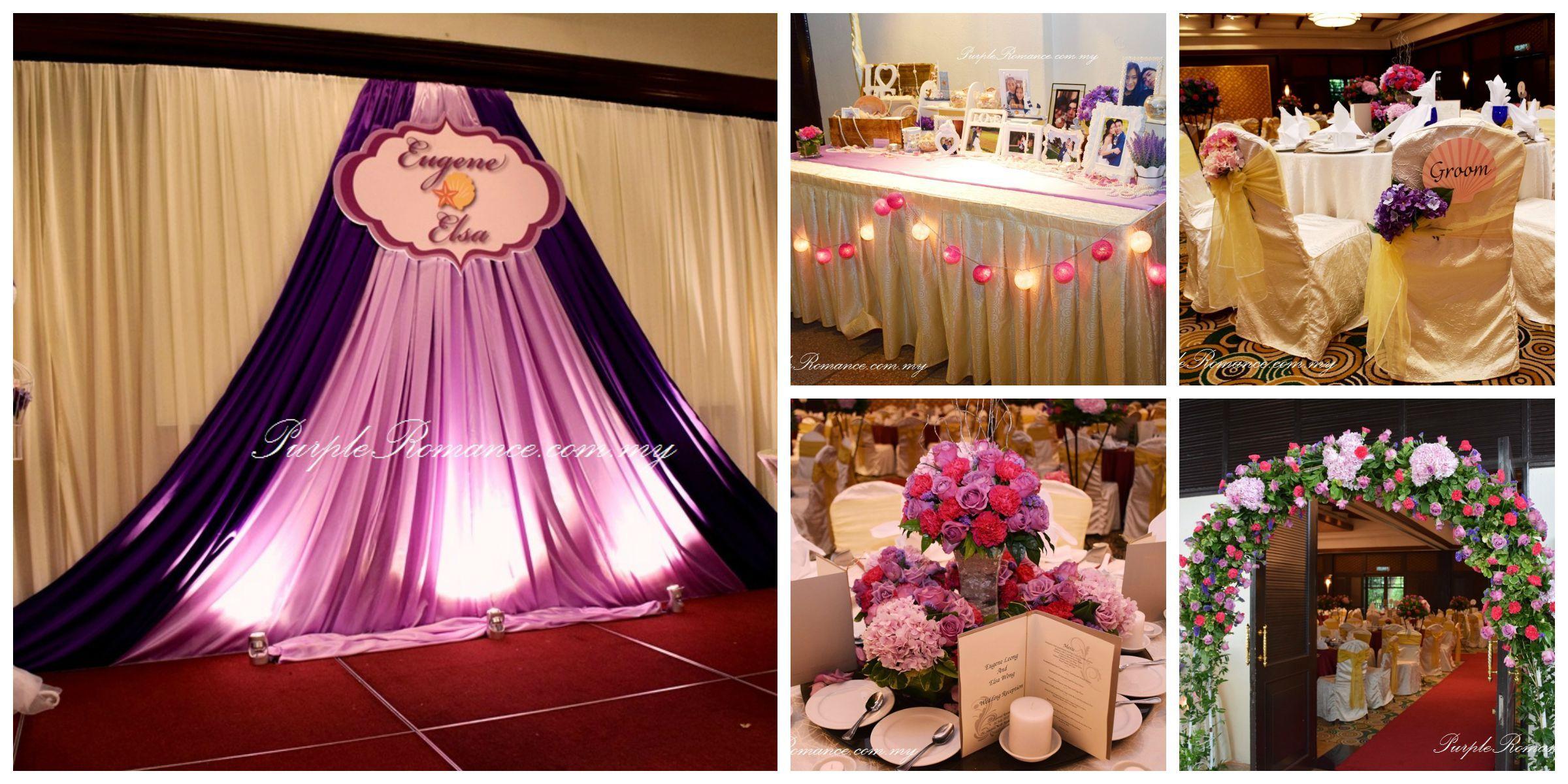 Stage Backdrop Wedding Decoration | Wedding backdrop ...