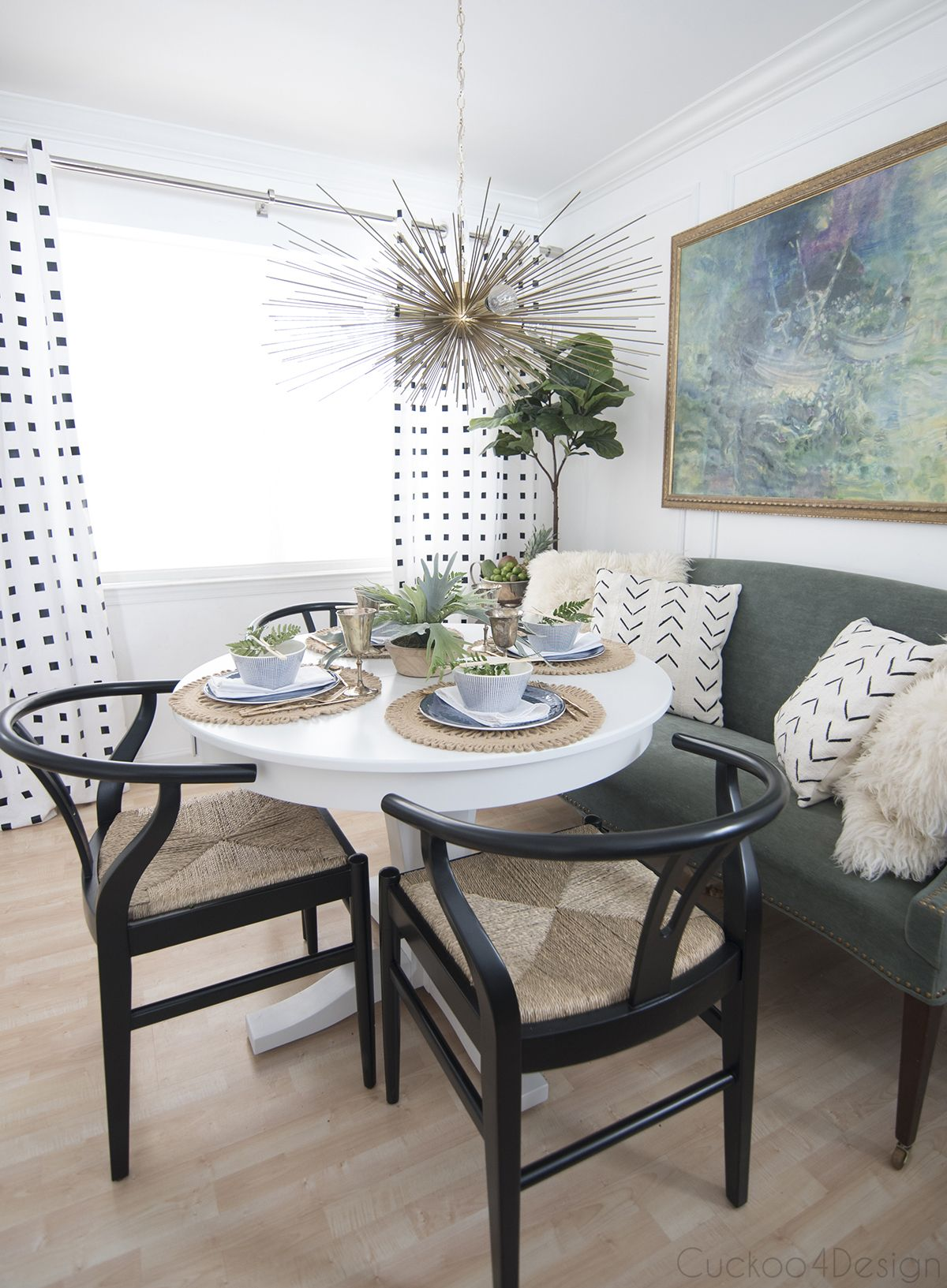 Dining room and kitchen makeover dining room design