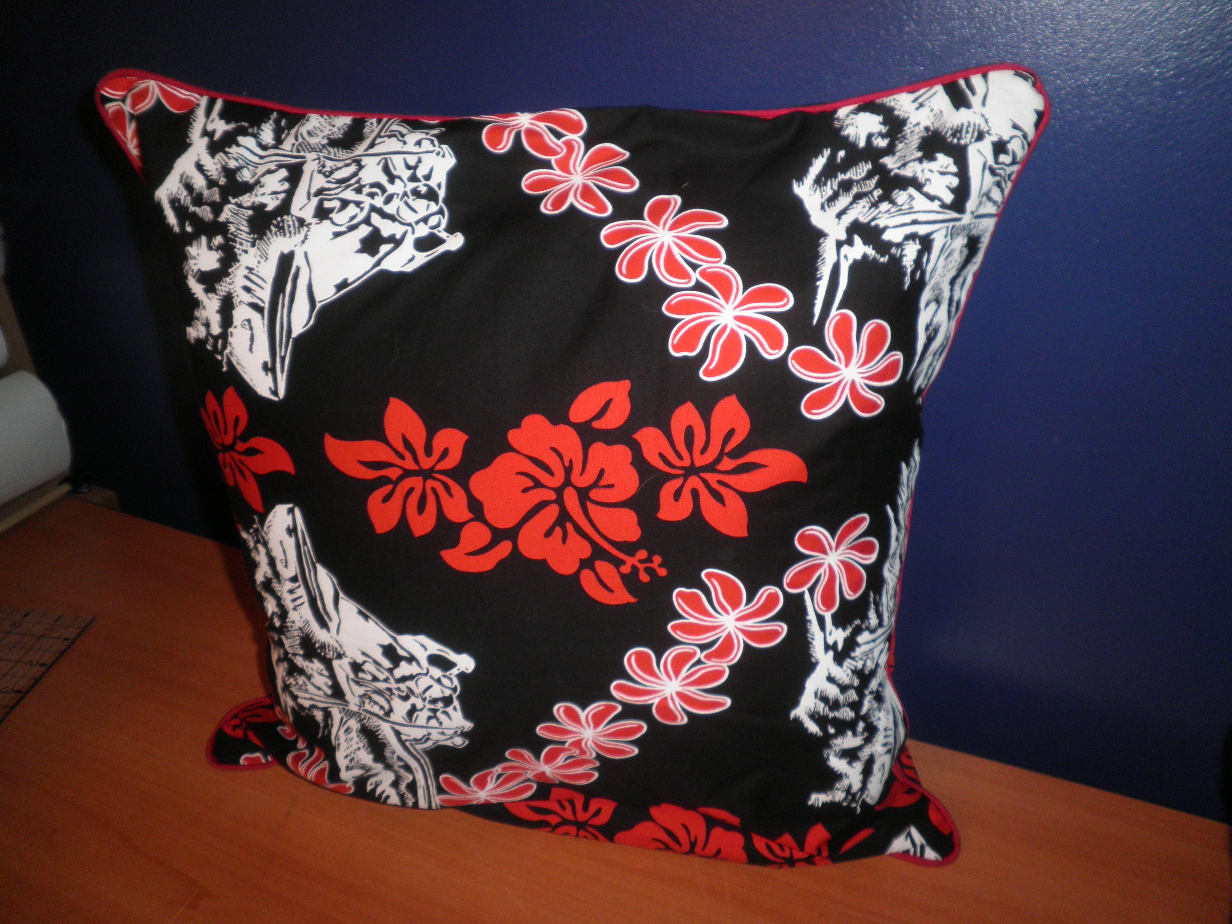Handmade throw pillow cushion