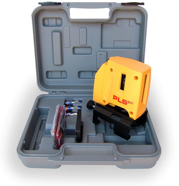 PLS Laser PLS-60512 PLS 90 Laser Level Tool, Yellow