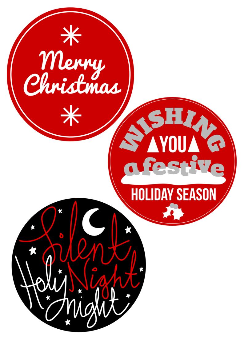 Chiudipacco Di Natale Free Printable Christmas Pinterest