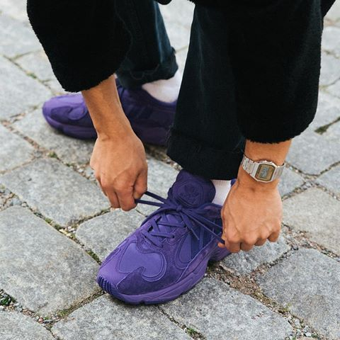e971727420556 Check out the  adidasOriginals Yung-1 in  Unity Purple