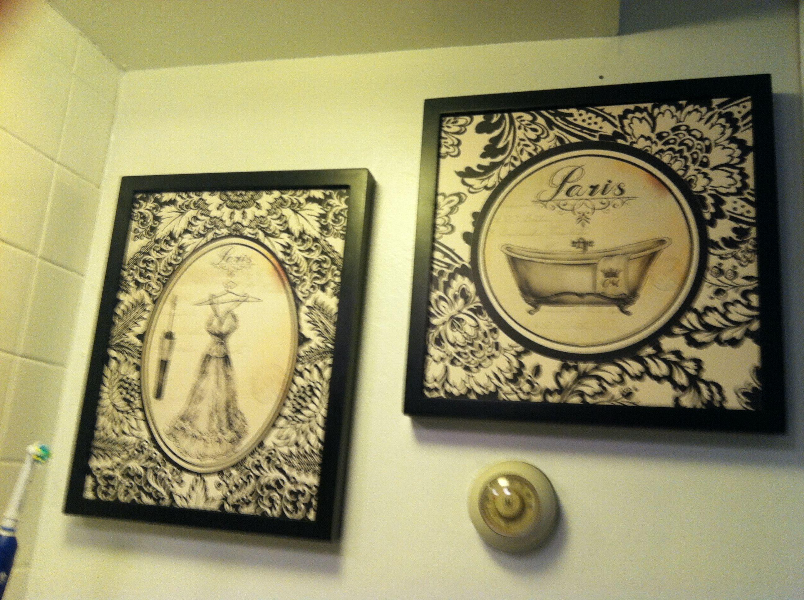 Bathroom Wall art from Hobby Lobby   Bathroom   Pinterest   Bathroom ...