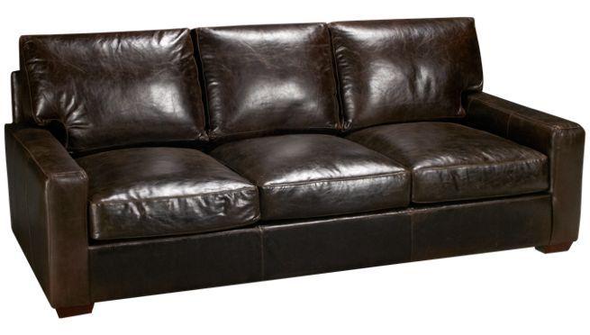 usa premium leather brompton leather sofa sofas for sale in ma rh pinterest com Leather Chesterfield Sofa Ralph Lauren Marinelli Leather Sofa
