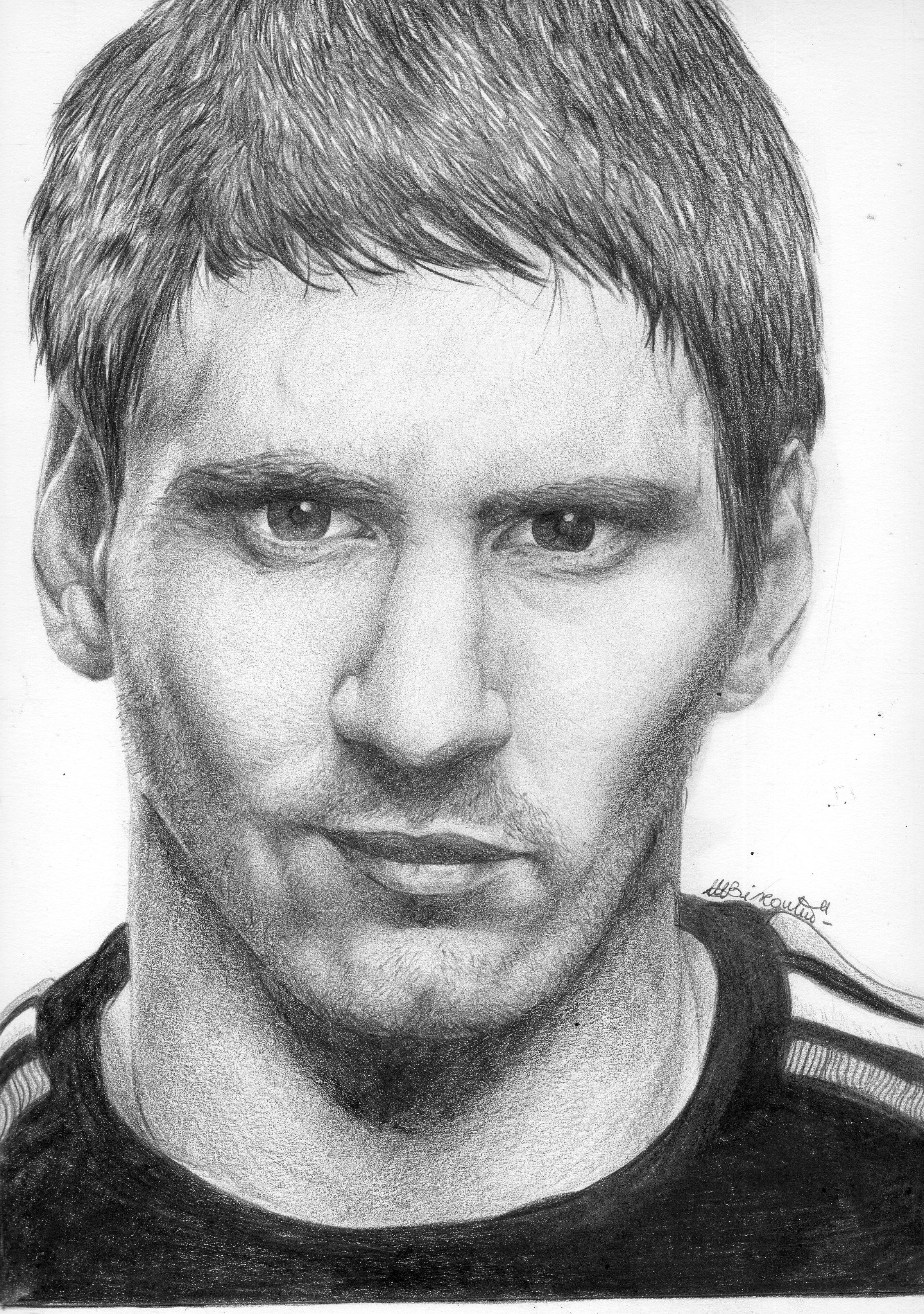 Lionel Messi Drawing | Messi drawing, Portrait, Lionel messi