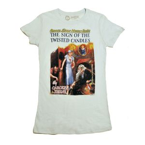 Out of Print Tees. They donate books to communities in Africa for each T-shirt bought.