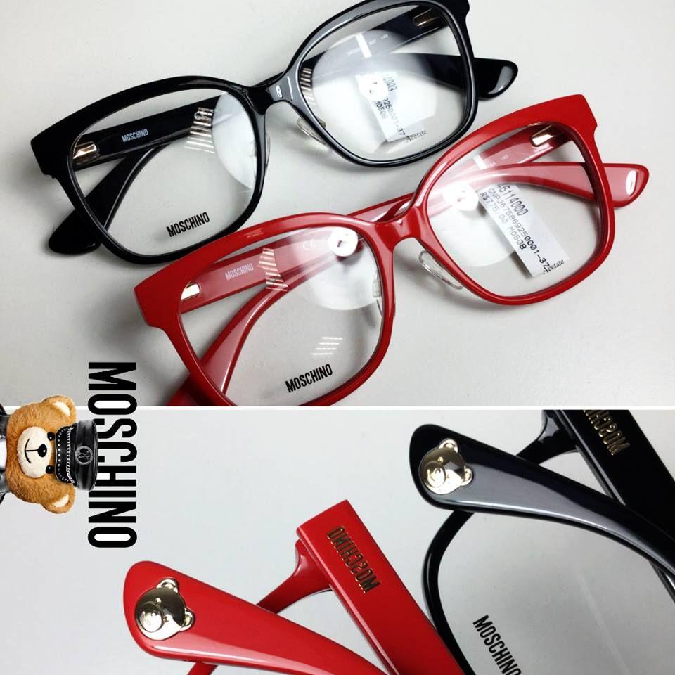 Procurando novidade em óculos de grau  A Moschino chega com modelos  clássico, repaginados em detalhes de acabamentos incríveis. d6a9f25a14