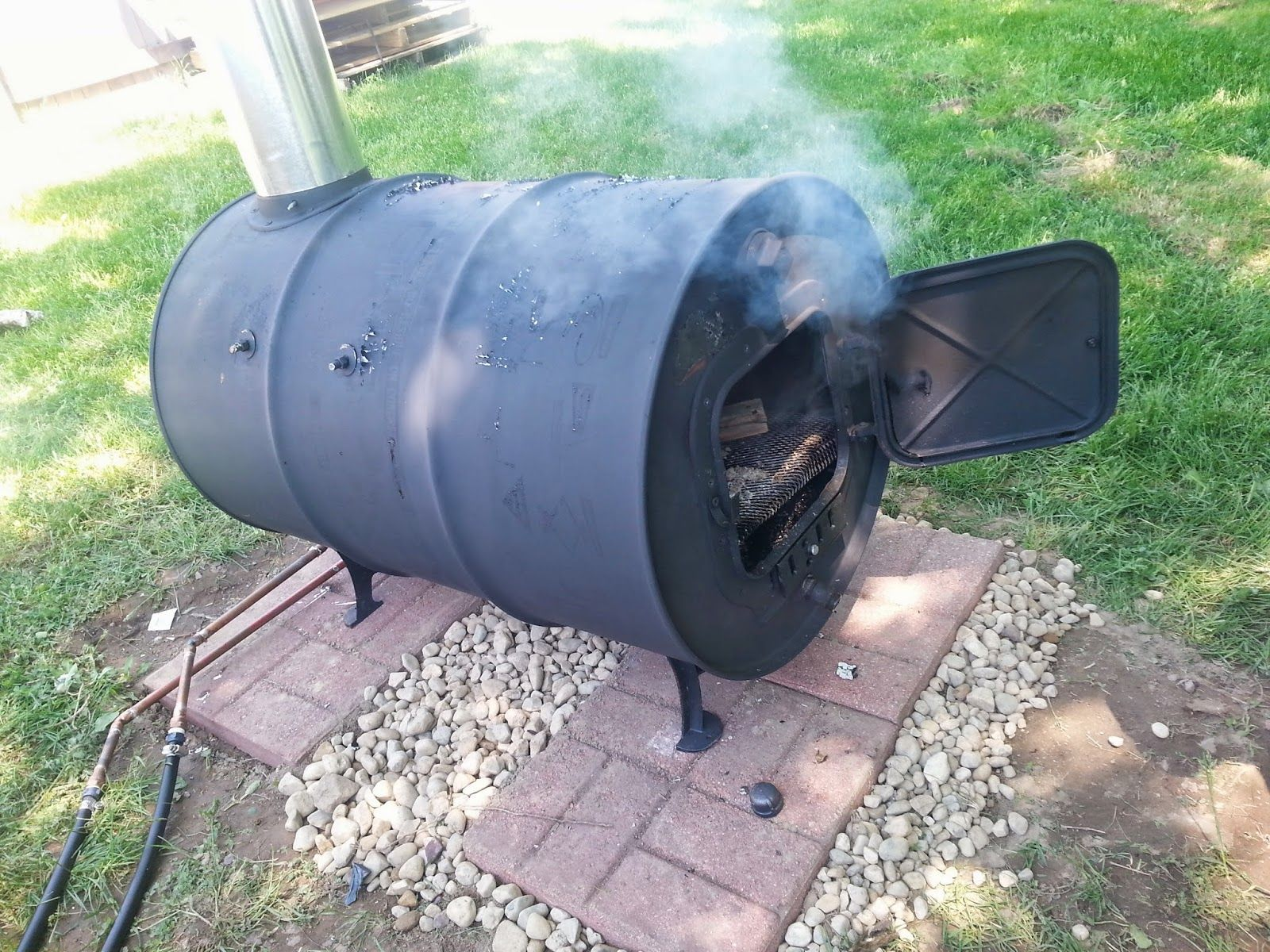 Wood Burning Pool Heater Heat Your Pool For Free Simple