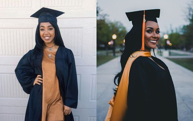 5 Types Of Graduation Hairstyles For Black Girls Graduation Hairstyles Black Girls Graduation Girl