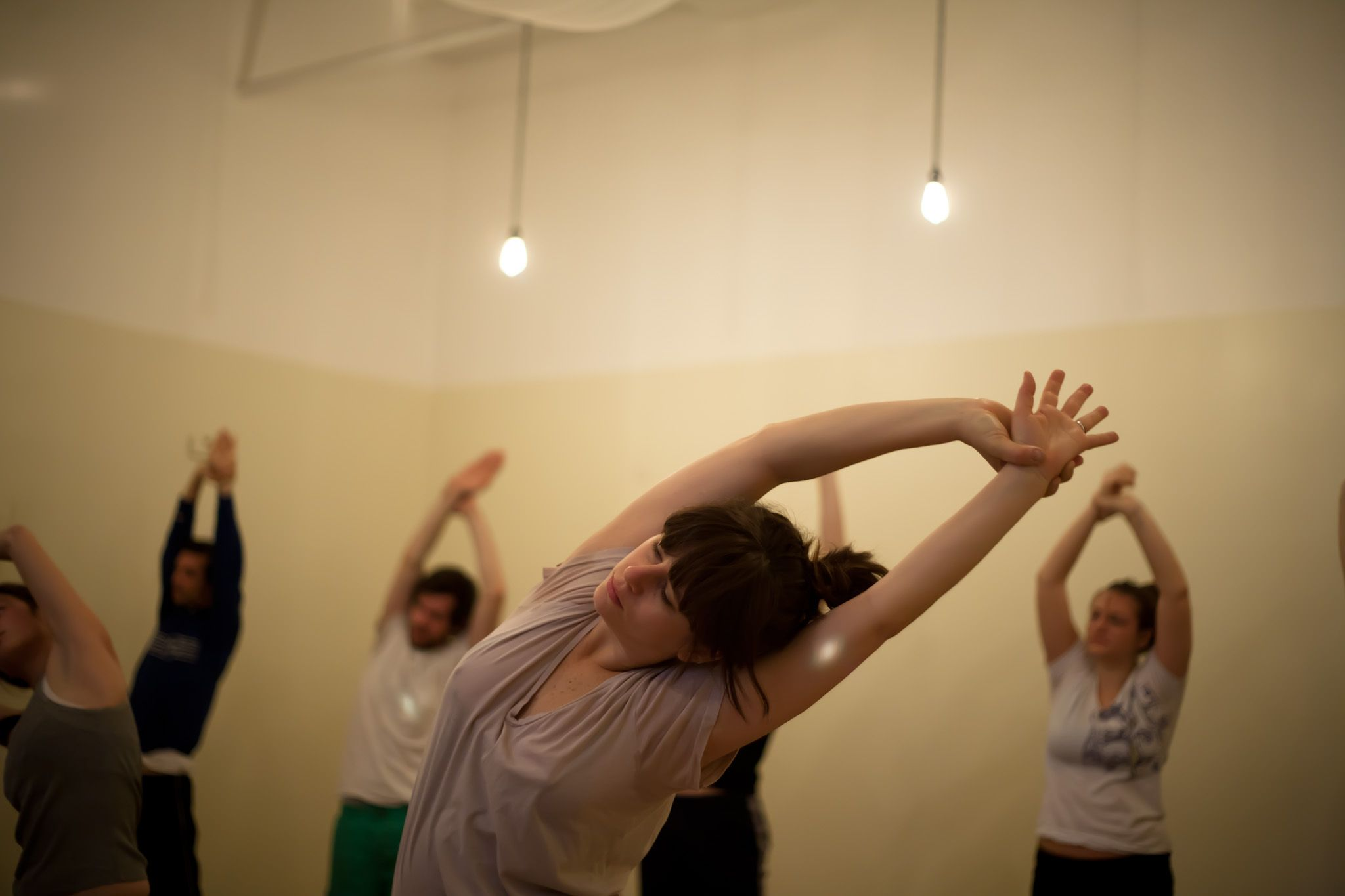"""Practice """"karma yoga,"""" a yoga of action, at Hosh Yoga in"""