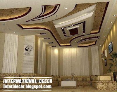 Modern False ceiling designs for living room interior designs ...