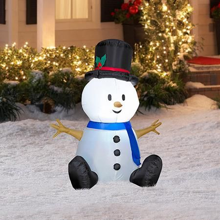 Party Occasions Christmas Inflatables Christmas Snowman Outdoor Christmas Decorations