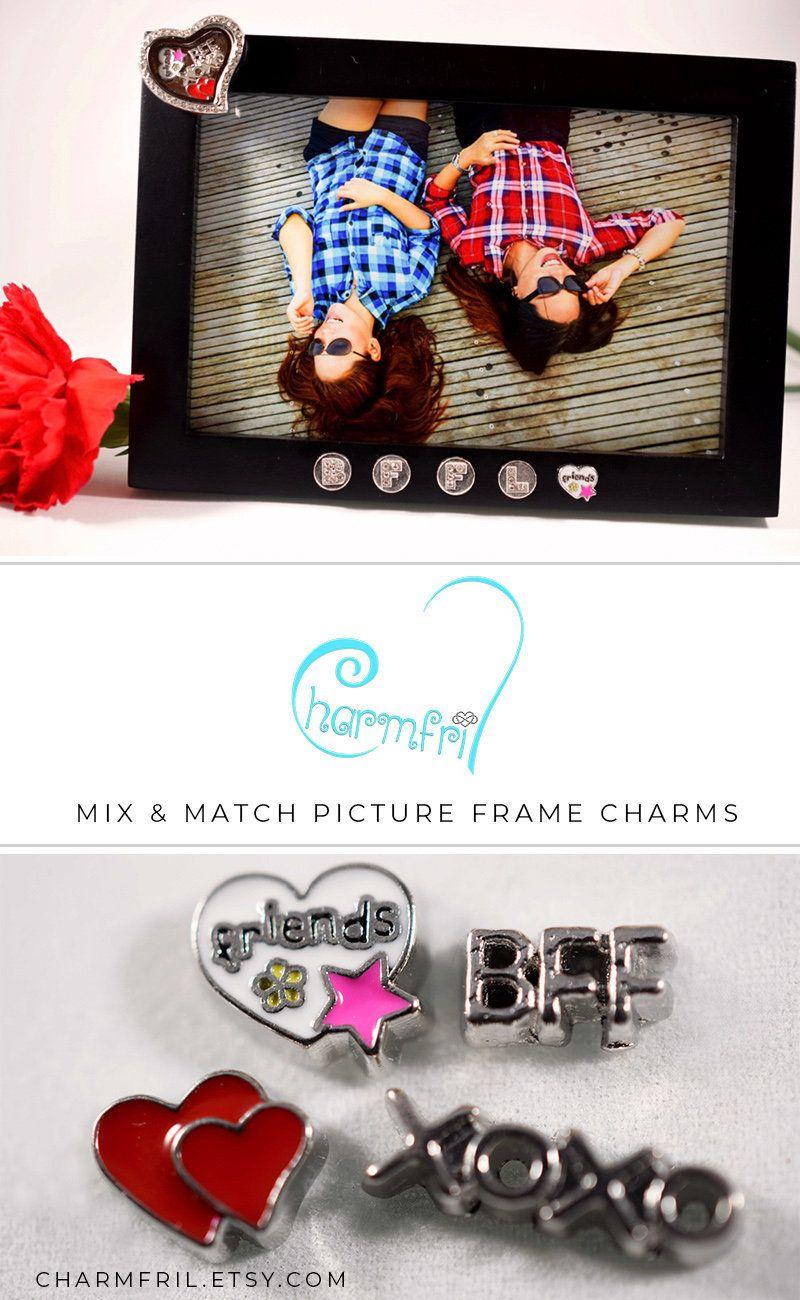 Picture Frame Locket Best Friend Gift, Birthday Gift for Best Friend ...