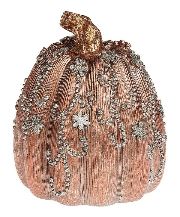Look at this Medium Beaded Pumpkin Statue on #zulily today - halloween statues