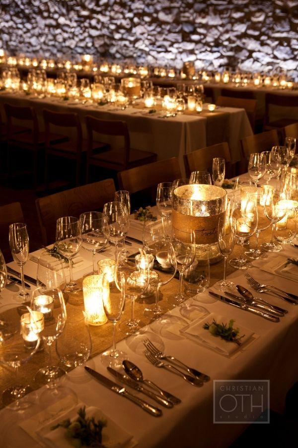 Elegant Candlelit Wedding Elegant Weddings And Wedding