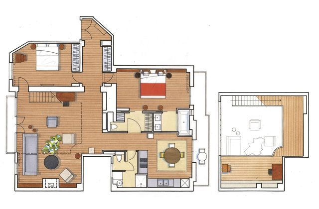 appartement paris 6 me un atelier sous verri re r nov en 120m2 vivre pinterest la. Black Bedroom Furniture Sets. Home Design Ideas