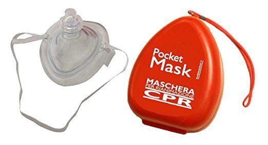 maschera per respirazione bocca a bocca