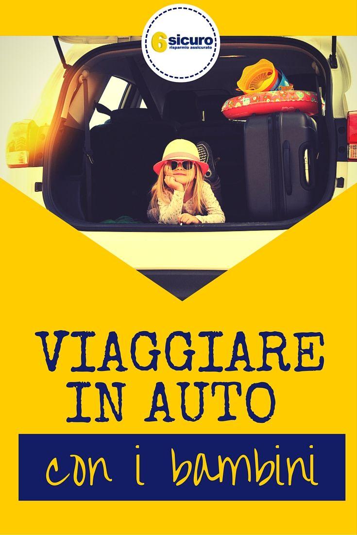 Viaggiare in auto con i bambini: ecco cinque buoni ...